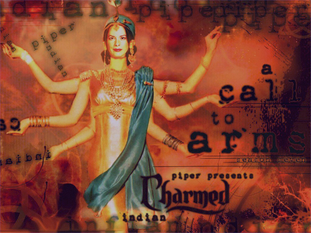 Piper as Goddess Shakti in A Call to Arms