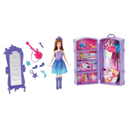 Barbie the Princess and the popstar wallpaper titled Playset