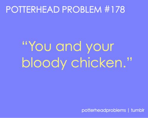 Potterhead problems 161-180