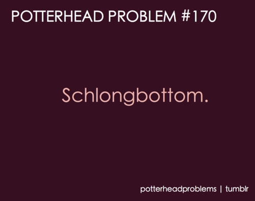 Potterhead problems 161-180