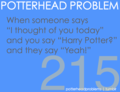 Potterhead problems 201-220