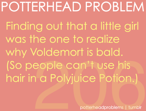 Potterhead problems 201-220