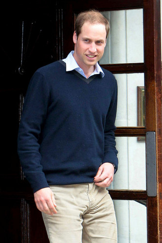 Prince William is seen after visiting Prince Phillip, Duke of Edinburgh, in the hospital in London - prince-william Photo