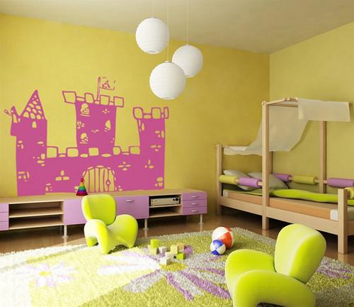 Prince's замок Nursery Стена Sticker
