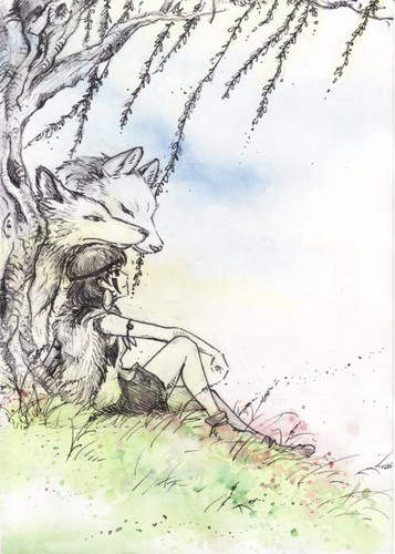 Princess Mononoke fanart (tumblr)
