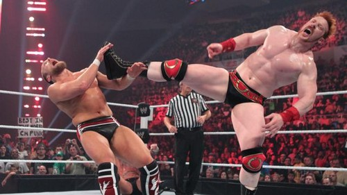 Punk and Sheamus vs Kane and Bryan