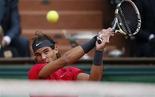 Rafa at Roland Garros 2012 - tennis Photo
