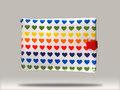 Rainbow Heart Ipad Case
