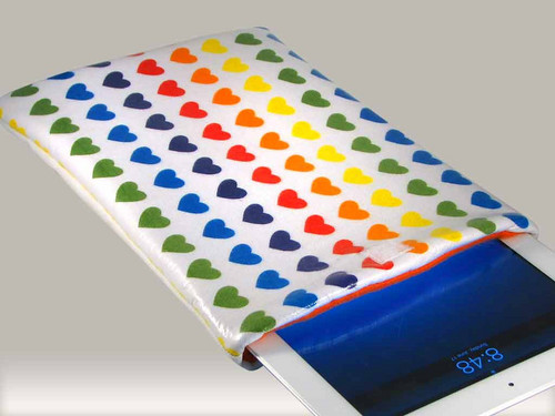 pelangi, rainbow Ipad Case