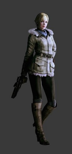 sherry Birkin wolpeyper probably with a breastplate and an armor plate titled Resident Evil 6