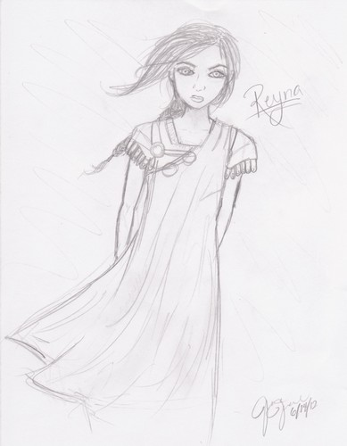 Reyna - the-heroes-of-olympus Fan Art