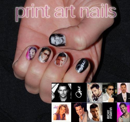 Ricky Martin Nails