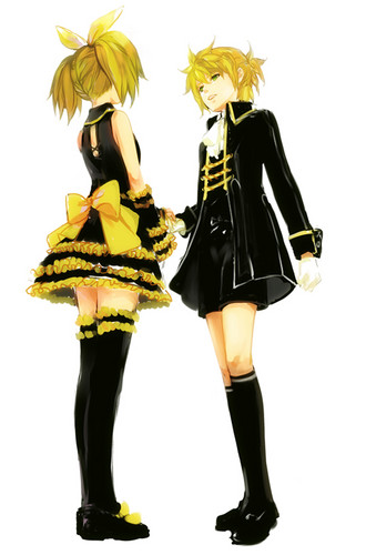 Rin Len servant and daughter of evil - vocaloids Photo