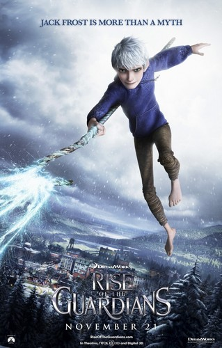 Rise of the Guardians Character Posters - Jack Frost