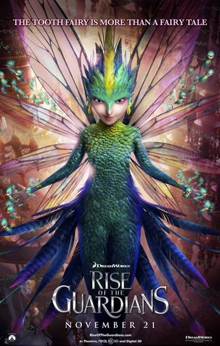Rise of the Guardians Character Posters - Tooth Fairy
