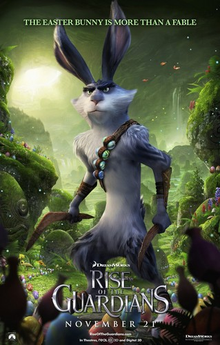 Rise of the Guardians Character Posters - Easter Bunny