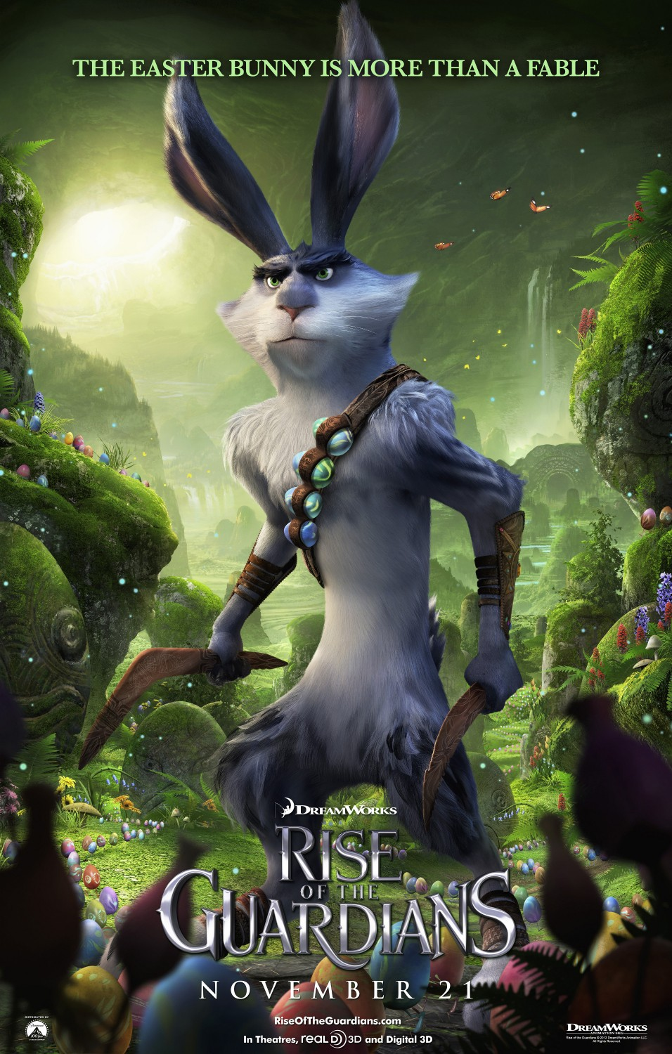 Rise of the guardians character posters easter bunny - Pics of rise of the guardians ...