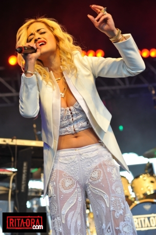Rita Ora - Lovebox Festival, Day 2, Victoria Park, London - June 16, 2012 - rita-ora Photo