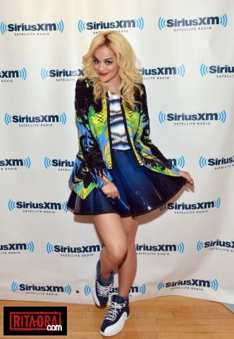 Rita Ora - SiriusXM Studio - June 15, 2012