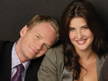 Robin & Barney - how-i-met-your-mother wallpaper