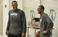 Rondo & Glen Davis - rajon-rondo photo