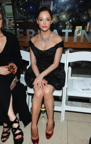 Rose - 3rd Annual amfAR Inspiration Gala New York - Inside, June 07, 2012 - rose-mcgowan Photo