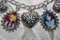 SAILOR MOON charm bracelet - sailor-moon fan art