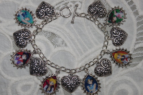 Sailor Moon Sailor Stars wolpeyper called SAILOR STARS charm bracelet