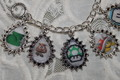 SUPER MARIO BROTHERS charm bracelet - super-mario-bros fan art