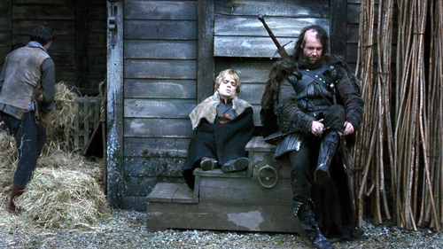 Sandor and Tyrion