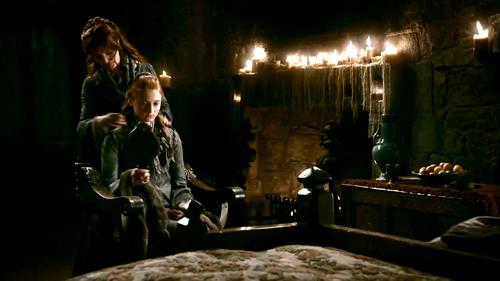 Sansa and Catelyn