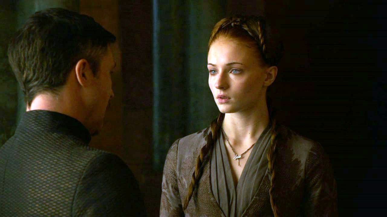 Sansa and Petyr...
