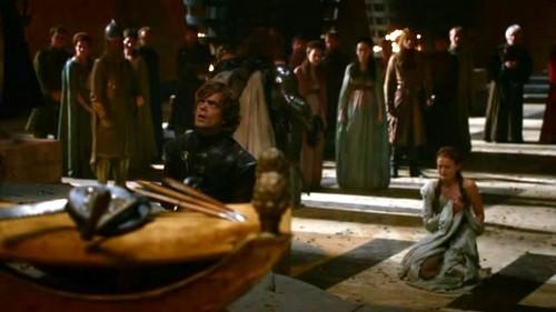 Sansa and Tyrion