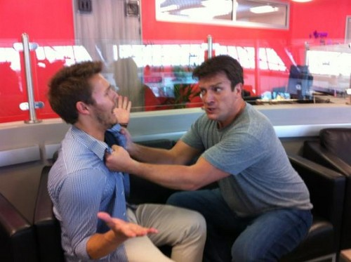 Scott Clifton Punches Nathan