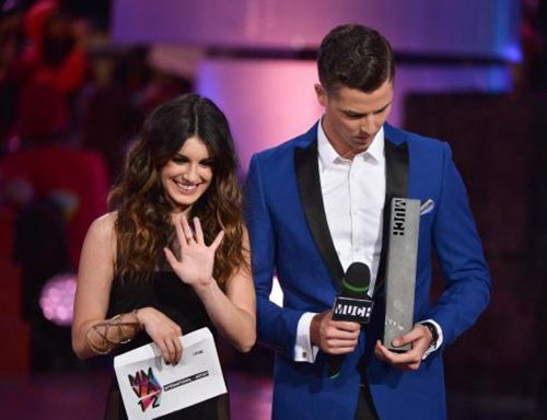 Shenae Grimes images Shenae @ the MuchMusic Video Awards wallpaper and background photos
