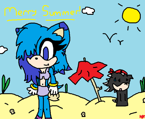 Shockqua Summer 2012 - shock-the-dog Fan Art
