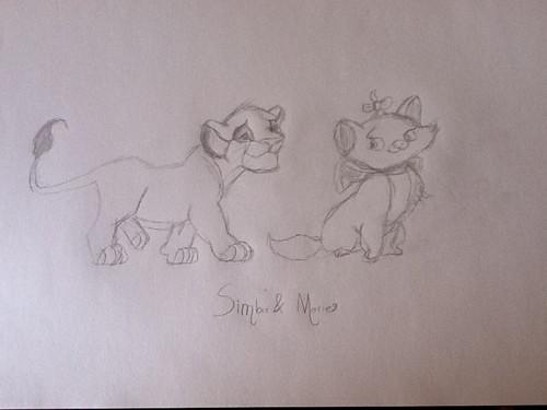 Simba & Marie
