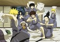 Sleepover - naruto-shippuuden photo