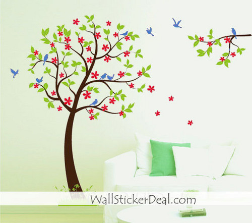 Spring Nature dinding Sticker