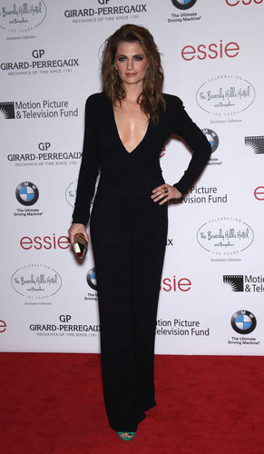 Stana Katic on the Red Carpet at the 100th Anniversary of the Beverly Hills Hotel on June 16, 2012