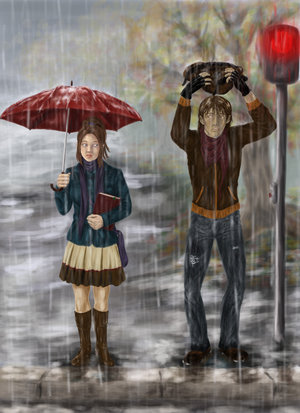 kitty pryde images standing in the rain wallpaper and background