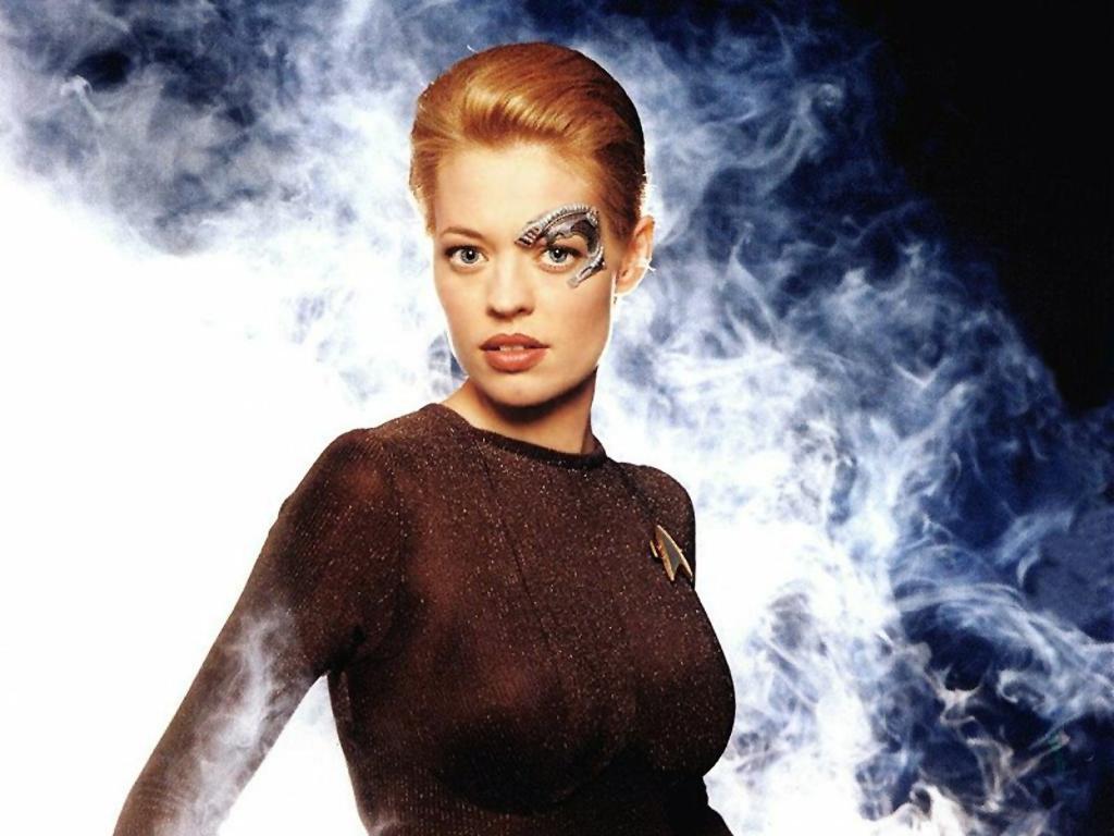 ngôi sao Trek Voyager's 7 of 9