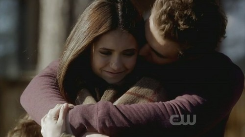 Stefan and Elena in 2x14