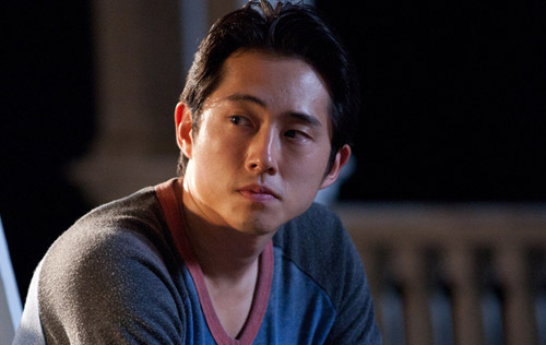 Steven Yeun/ Glenn from the walking dead