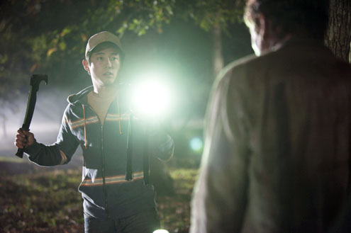 Steven Yeun Walking Dead