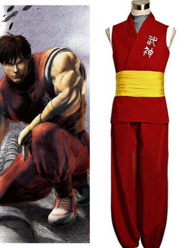 سٹریٹ, گلی Fighter Zero 3 Guy Cosplay Costume
