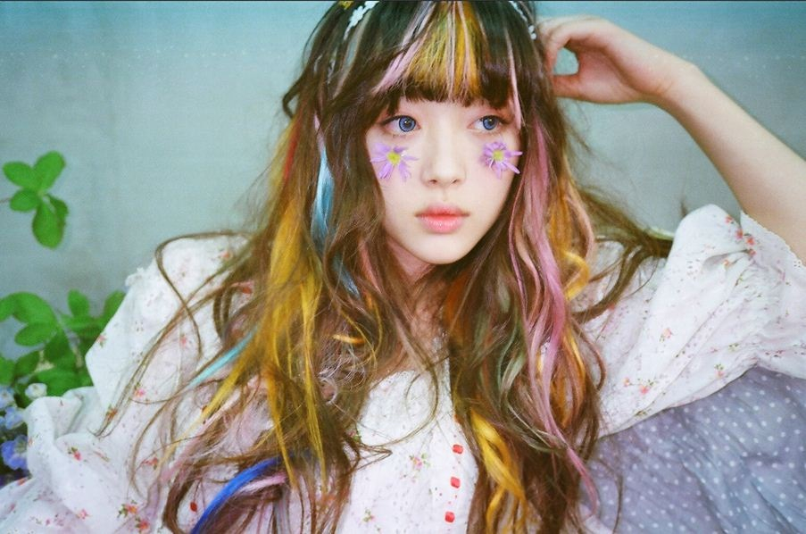 Sulli   Electric ShockElectric Shock Hair Fx