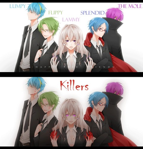THE HAPPY TREE FRIENDS KILLERS