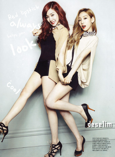 Taeny @ Elle Girl July Scan