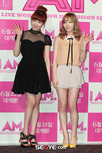 Taeny @ I AM Premiere Press Conference